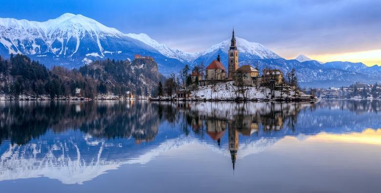 [BLED I LJUBLJANA] Uživajte u zimskoj bajci na ledenjačkom jezeru i posjetite simpatičnu slovensku metropolu za 145 kn!