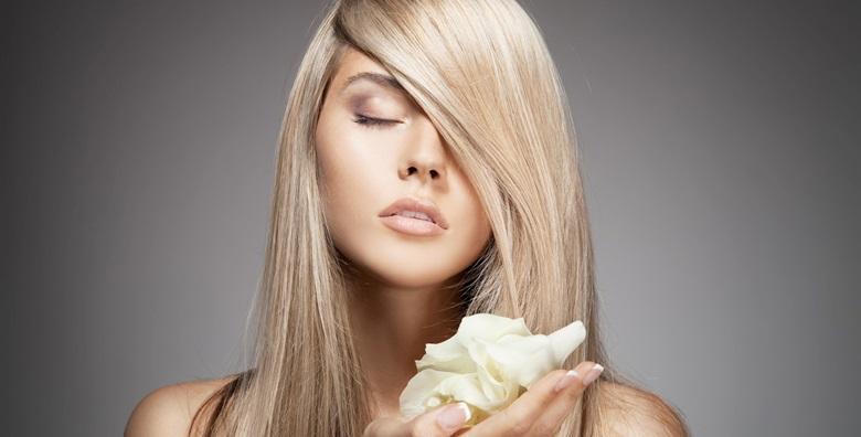 Bojanje OLAPLEX tretmanom, šišanje, frizura
