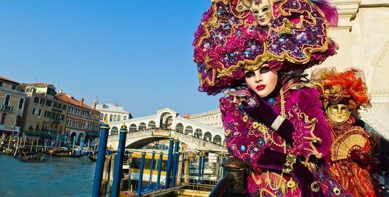 Karneval u Veneciji - 2 dana s doručkom i prijevozom