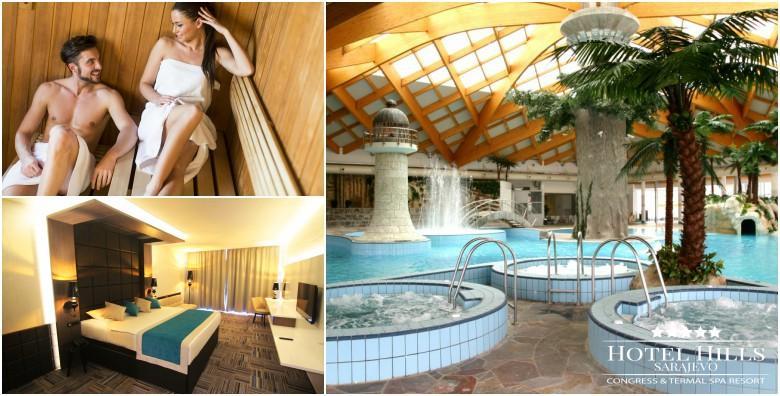 [VALENTINOVO U SARAJEVU] Luksuzni wellness odmor u Hotelu Hills***** - 3 dana s polupansionom za dvoje uz neograničeno kupanje u termama za 1.350 kn!