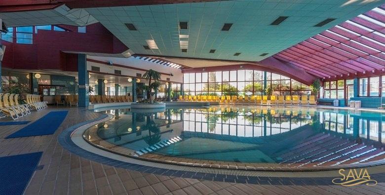 [MORAVSKE TOPLICE] Terme 3000 - 3 dana s polupansionom za dvoje u Hotelu Ajda**** uz neograničeno kupanje u termama za 1.474 kn!