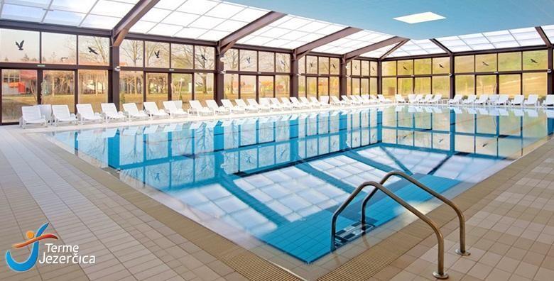 [TERME JEZERČICA] 2 dana s polupansionom za 2 osobe uz neograničeno korištenje unutarnjih bazena i fitnessa uz popuste na masaže za 499 kn!