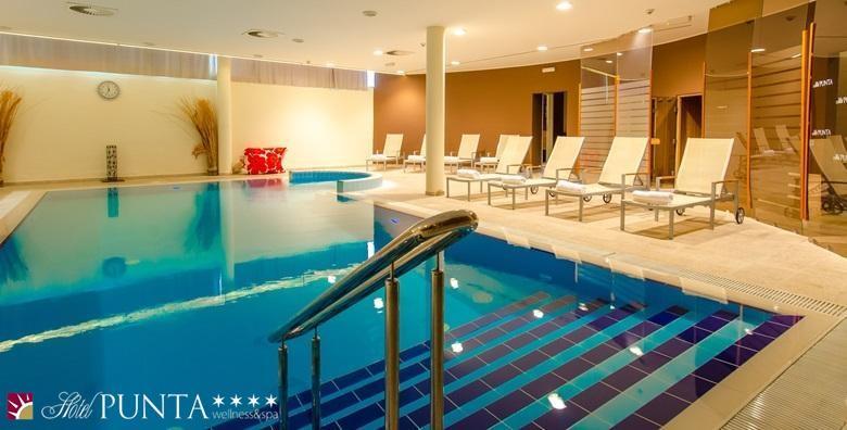 [WELLNESS U VODICAMA] Hotel Punta**** - 3 dana s doručkom ili polupansionom za dvoje uz korištenje bazena, relax zone i fitnessa od 1.099 kn!