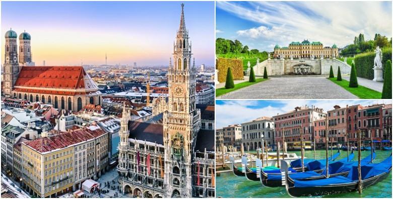 Europski odmor po tvojoj mjeri - 2, 3 ili 4 dana za dvoje