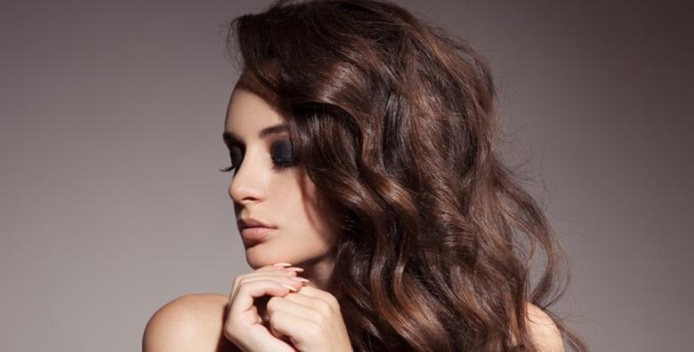 Šišanje, fen frizura i maska za kosu