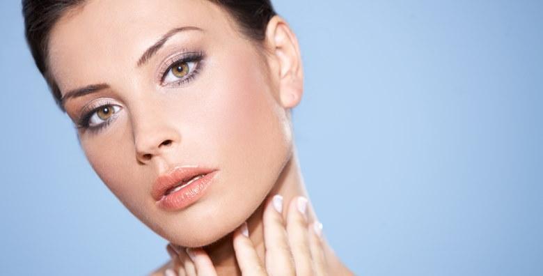 Tretman lica kisikom, krema i hijaluronski serum