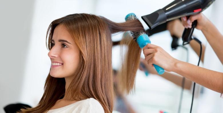 Bojanje ili pramenovi s preljevom, šišanje, tretman keratinom i frizura za 139 kn!