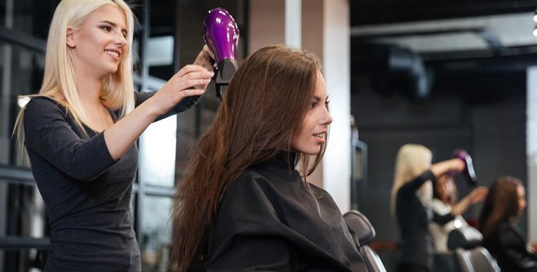 Šišanje, fen frizura i pranje kose