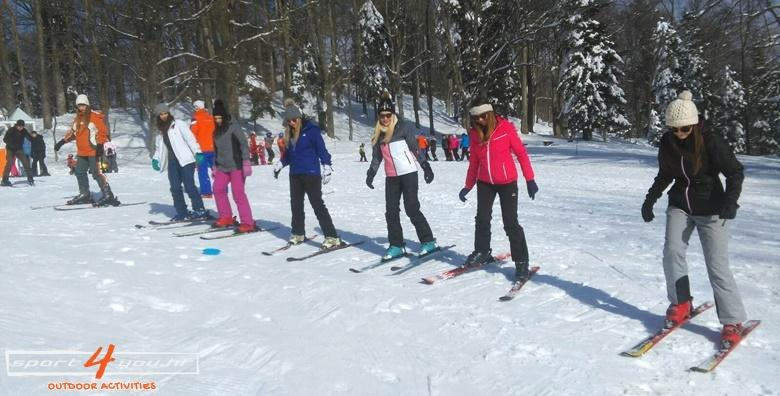 Škola skijanja na Sljemenu - 2 dana za djecu i odrasle