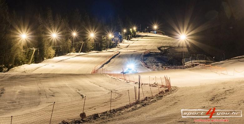 Noćna škola skijanja na Sljemenu - 3 dana