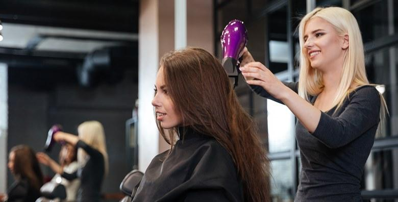 Šišanje, ampula i 2 fen frizure