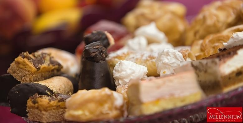 [BOŽIĆNI KOLAČI] 1kg blagdanskih kolača iz poznate Slastičarnice Millennium u centru grada! Oduševite obitelj i goste vrhunskim slasticama za 75 kn!