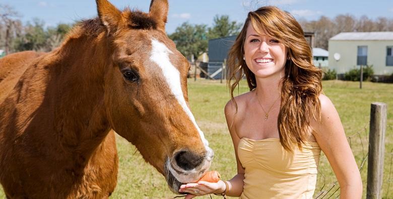 Upoznavanje s konjima u predivnom okruženju rancha Winnetou