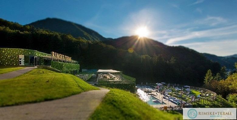 [RIMSKE TERME] Slovenija - 3 dana s doručkom ili polupansionom za dvoje u luksuznom hotelu Zdraviliški dvor**** uz kupanje u termama od 1.120 kn!
