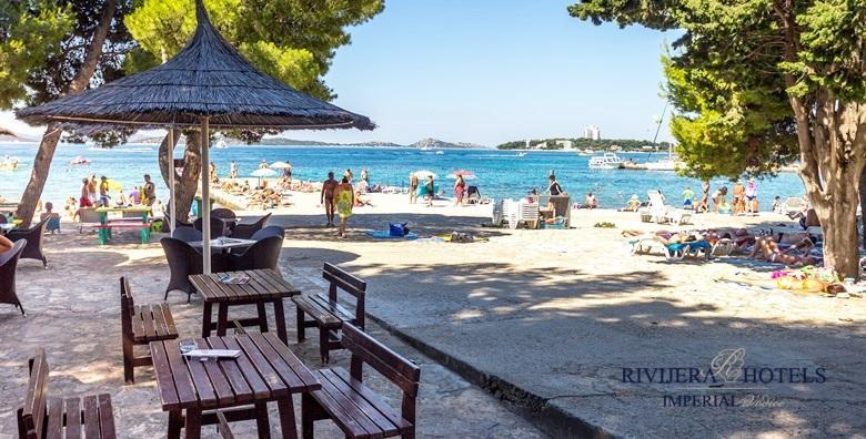 [VODICE] Vaše odredište za najbolju zabavu na Jadranu - 2 ili 3 dana s polupansionom za dvoje u Hotelu Imperial*** tik do plaže od 499 kn!