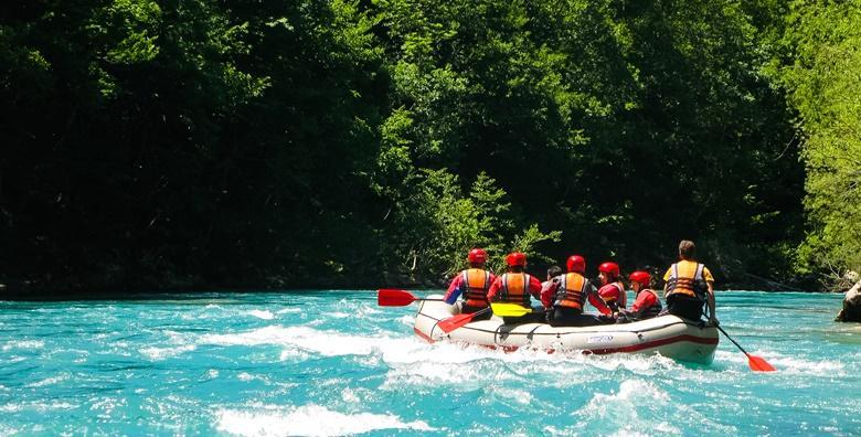 Rafting na Cetini - adrenalinska avantura
