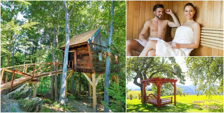 [SLOVENIJA] Romantična bajka na imanju Na Škaluc! Smjestite se u kućicu na drvetu u okrilje zelenih krošnji ili u sobu na rustikalnoj kleti