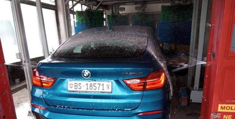 Pranje auta u 4 faze u automatskoj autopraonici