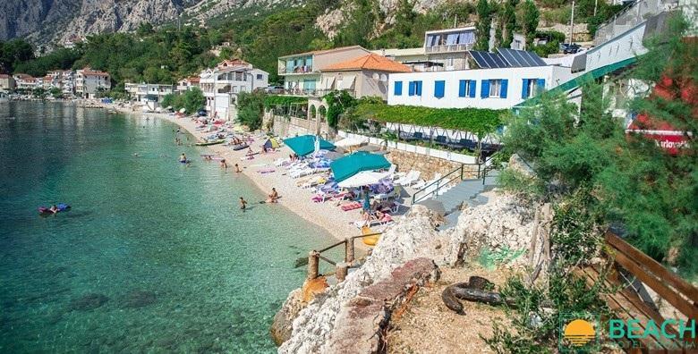 [MAKARSKA RIVIJERA] 8 dana s doručkom za dvoje u Beach Hotelu*** na samoj plaži - odmor u jednom od najljepših mjesta na Jadranu od 2.617 kn!