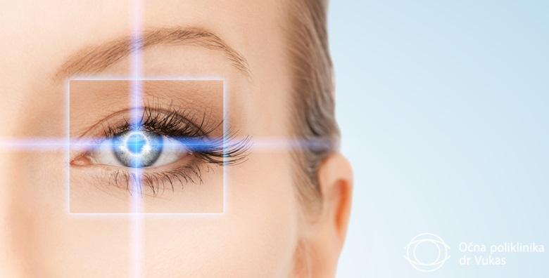 Pregled za lasersku korekciju vida u Očnoj poliklinici dr. Vukas za 349 kn!