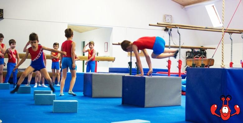 [LJETNA ŠKOLA] 4 ili 5 dana treninga sportske gimnastike, parkoura i trampolina! 3 šk. sata dnevno za djecu od 5 do 14 godina od 305 kn!