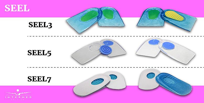 Silikonski jastučići za pete po izboru