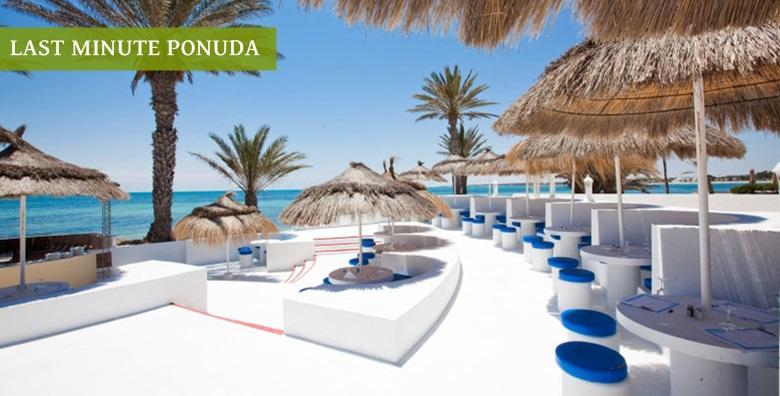 [TUNIS LAST MINUTE] 7 all inclusive noćenja u hotelu**** na otoku Djerba uz uključen povratni let i pristojbe od 2.789 kn!