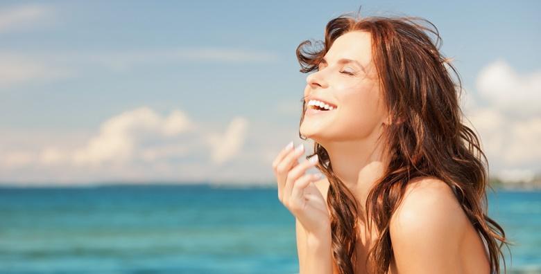 Čišćenje lica UZV špatulom, njega lica i korekcija obrva