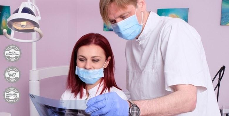 Popravak zuba laserom i troplošni kompozitni ispun