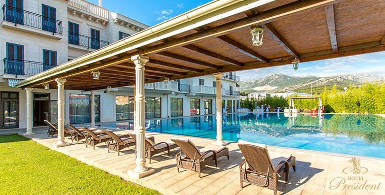 [SOLIN] Hotel President***** - 3 ili 4 dana s doručkom za dvoje uz korištenje bazena, saune i relax zone tijekom CIJELE SEZONE od 1.690 kn!