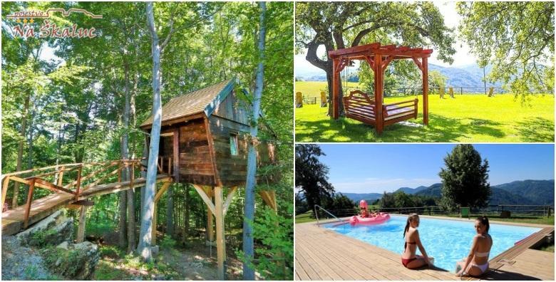Slovenija*** - smještaj u kućici na drvetu ili sobi u kleti