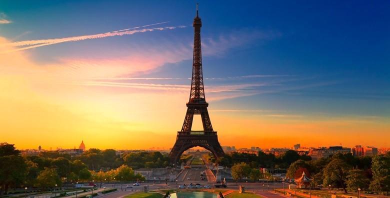 [PARIZ] Doživite nezaboravnu pustolovinu u gradu svjetla i romantike! 3 ili 4 dana s doručkom za dvoje u hotelu*** na samoj rijeci Seini od 1.029 kn!