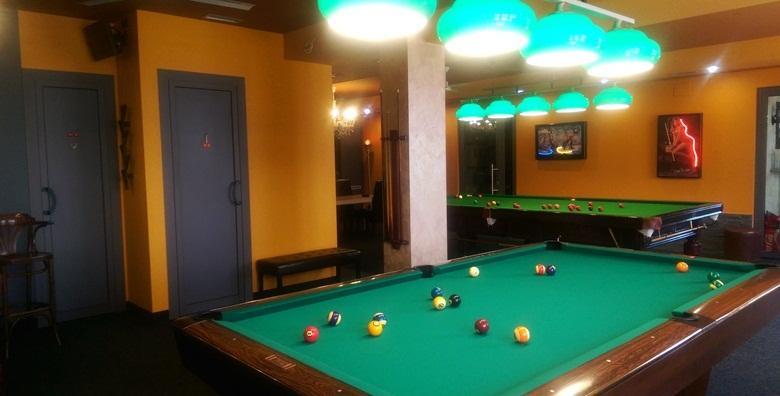 Pool i snooker biljar - 3 sata igranja za 4 osobe