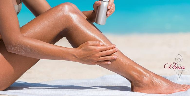 Depilacija nogu i bikini zone voskom
