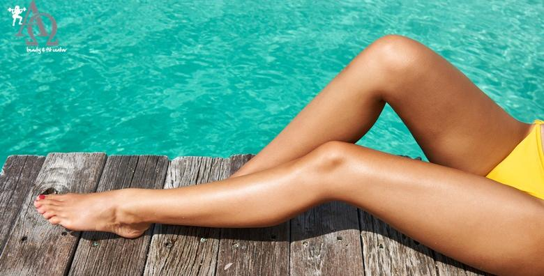 Depilacija cijelih nogu voskom i dublje bikini zone voskom u perlama u Alpha et Omega Beauty & fit centru za 99 kn!