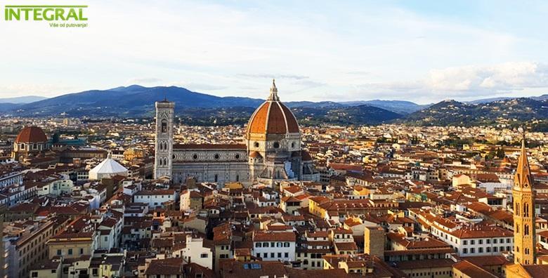 [TOSKANA] Otkrijte tajne ove čarobne talijanske pokrajine - 4 dana s polupansionom u hotelu*** uz uključene izlete i prijevoz za 1.450 kn!
