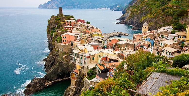 Cinque Terre i Ligurska obala - 4 dana uz uključen prijevoz za 1.449 kn!