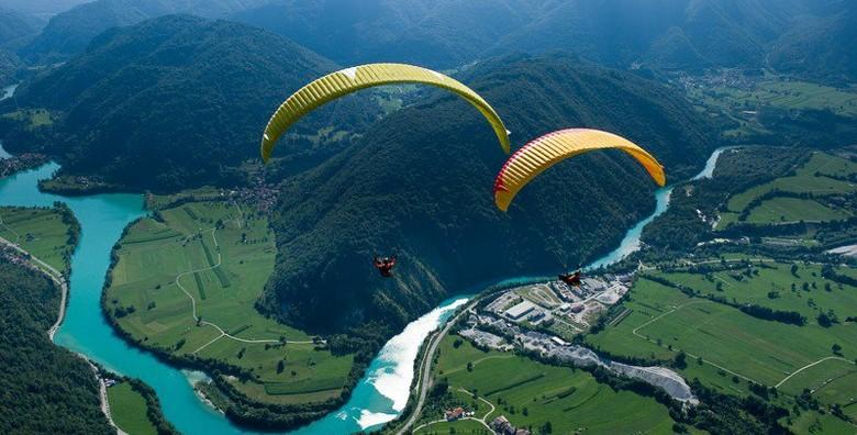 Paragliding - adrenalinski let u tandemu s instruktorom