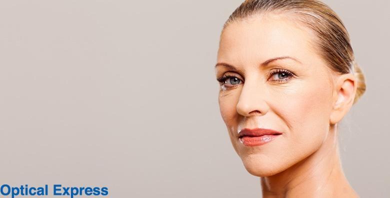 Korekcija vjeđa oba oka - riješite se viška kože od 3.750 kn!