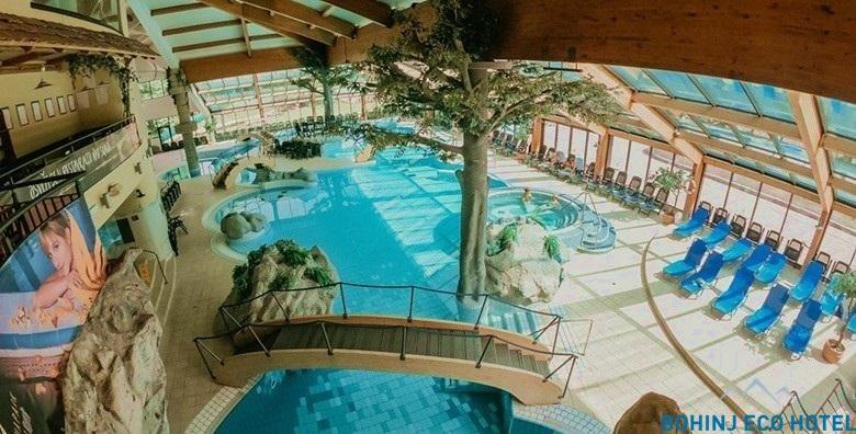 [BOHINJ ECO HOTEL****] 3 dana s doručkom za dvoje uz neograničeno kupanje u bazenima Vodenog parka i korištenje sauna za 1.909 kn!