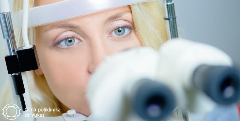 Dijagnosticiranje glaukoma u Poliklinici dr. Vukas  za 899 kn!