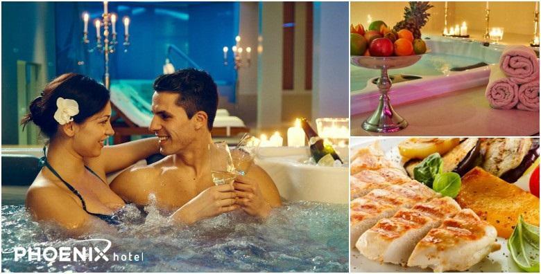 [WELLNESS DOŽIVLJAJ] 2h korištenja saune, bazena i relax zone uz večeru po izboru! Organizirajte savršen spoj, godišnjicu ili rođendan za 165 kn!