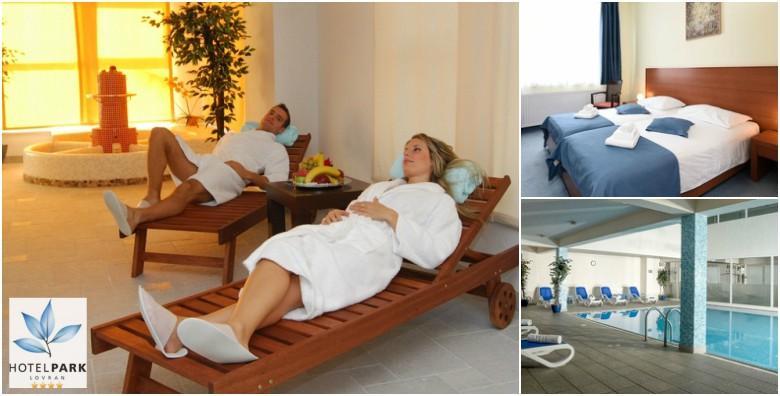 [LOVRAN] Romantični wellness odmor za dvoje u Hotelu Park**** - 1 noćenje s polupansionom uz korištenje spa zone, bazena i fitnessa za 505 kn!