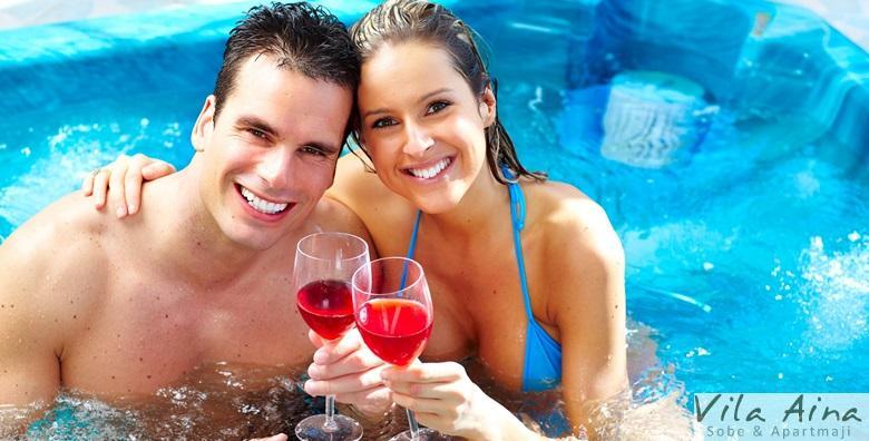 [LAŠKO, SLOVENIJA] Luksuzni wellness za dvoje u Vili Aina*** - 2 noćenja s polupansionom uz šampanjac te korištenje whirlpoola i saune za 1.140 kn!