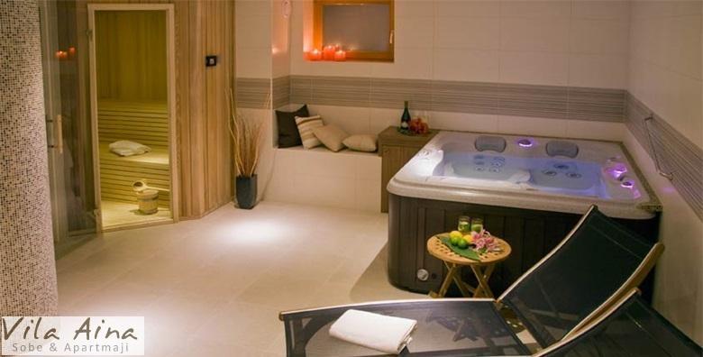 [TERME LAŠKO] 1 ili 2 noćenja s doručkom za dvoje u Vili Aina*** uz korištenje saune, whirlpoola i ležaljki te 20% popusta na ulaz u terme od 725 kn!