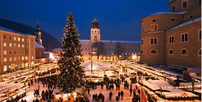 [ADVENT U SALZBURGU] Cjelodnevni izlet u najljepše doba godine - posjetite Mozartov grad, kušajte austrijske specijalitete i slastice za 259 kn!