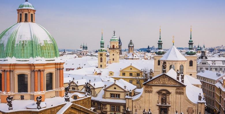 [ADVENT U PRAGU] 3 dana s prijevozom i doručkom u hotelu*** uz razgled Češkog Krumlova, Krušovica i Budejovica za 740 kn!