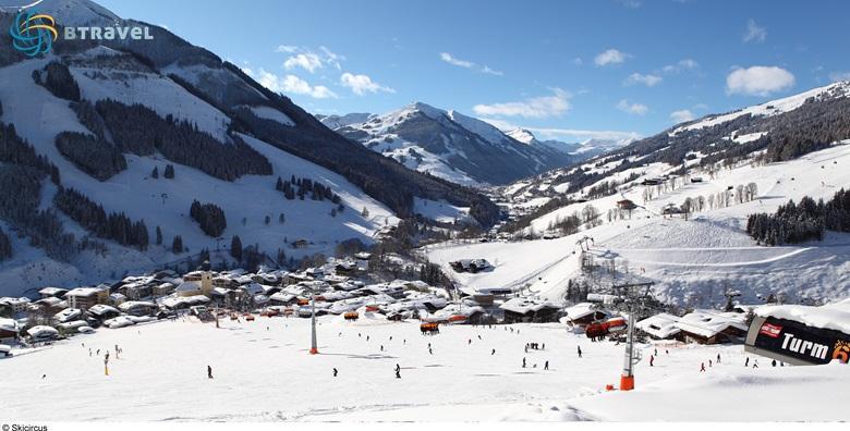[SKIJANJE U AUSTRIJI] Otkrijte najveće skijaško područje u državi s čak 270 km staza - 7 noćenja s doručkom za dvoje u pansionu***  za 7.380 kn!