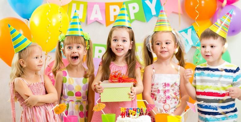 Dječji rođendan - 2 sata zabave za 15 djece za 550 kn!