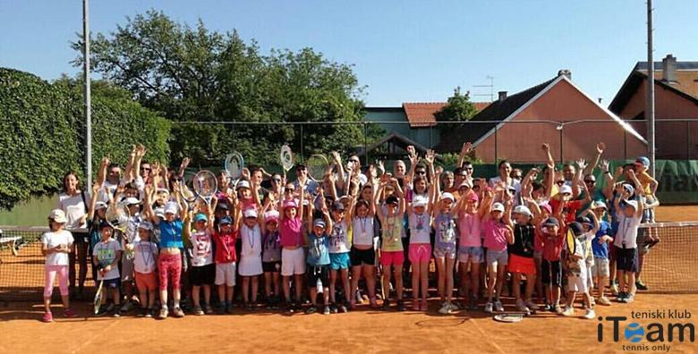 Škola tenisa za djecu - mjesec dana, 2 puta tjedno za 99 kn!